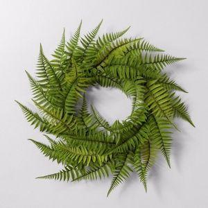 """NEW Hearth & Hand w/Magnolia 24"""" Faux Fern Wreath"""